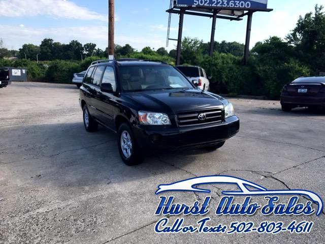 2005 Toyota Highlander Base 2WD