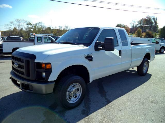 2008 Ford F-250 SD   SuperCab Long Bed 4WD