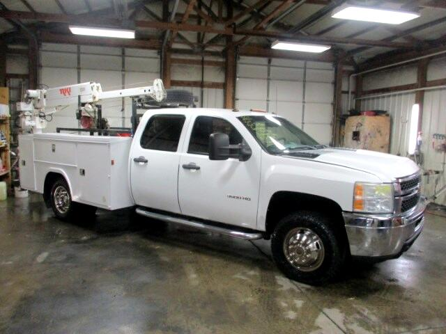 2011 Chevrolet Silverado 3500HD Work Truck Crew Cab Long Box 4WD