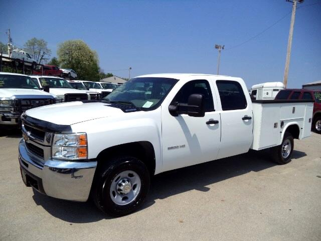 2010 Chevrolet Silverado 2500HD Work Truck Crew Cab Long Box 2WD