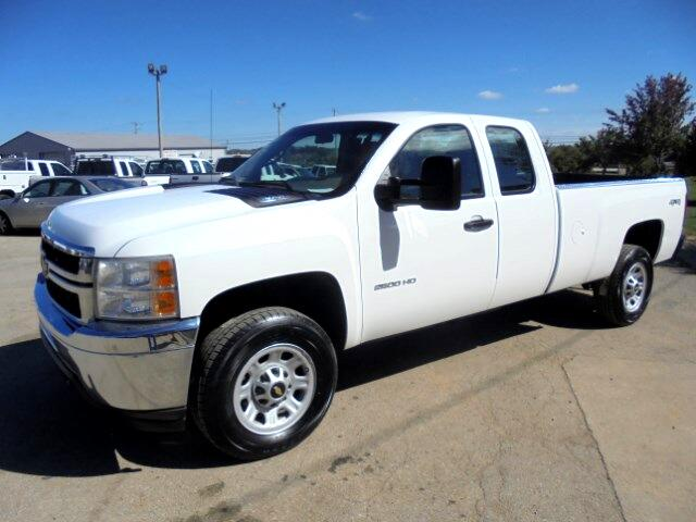 used 2011 chevrolet silverado 2500hd work truck ext cab long box 4wd for sale in frankfort ky. Black Bedroom Furniture Sets. Home Design Ideas