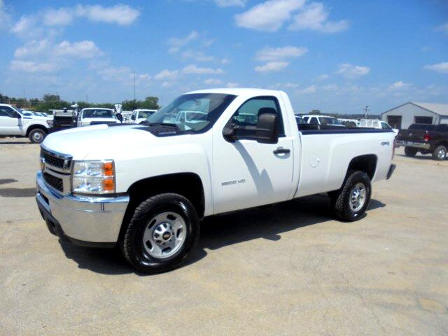 2012 Chevrolet Silverado 2500HD Work Truck Long Box 4WD