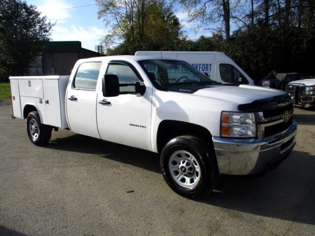 2013 Chevrolet Silverado 3500HD Work Truck Crew Cab 4WD