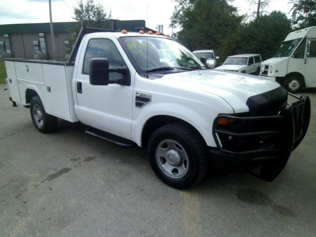 used 2008 ford f 350 sd xl 2wd for sale in frankfort ky 40601 larry stigers equipment trailers. Black Bedroom Furniture Sets. Home Design Ideas