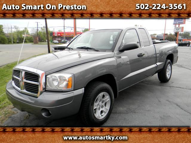 used 2006 dodge dakota slt club cab 2wd for sale in louisville ky 40219 auto smart on preston. Black Bedroom Furniture Sets. Home Design Ideas
