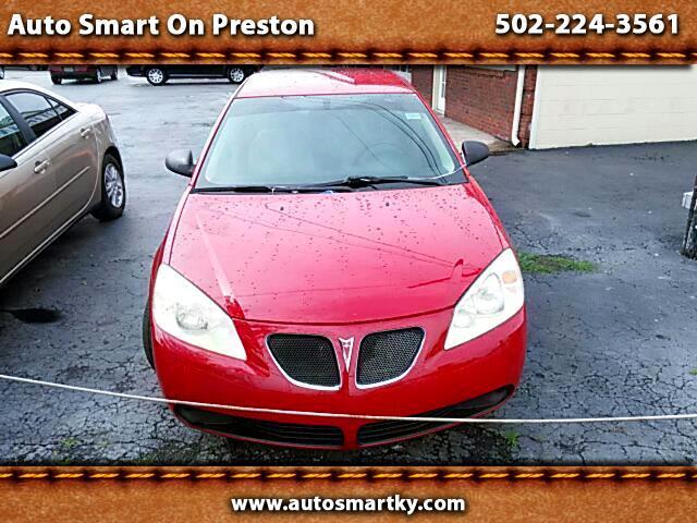 2006 Pontiac G6 1SV Sedan