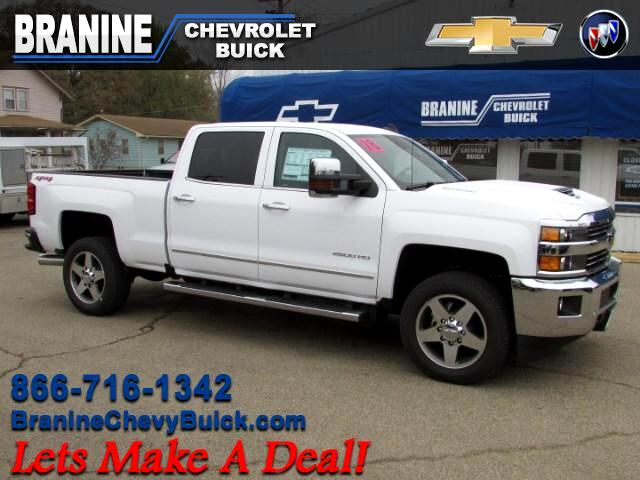 2018 Chevrolet Silverado 2500HD Crew Cab Short Bed 4WD