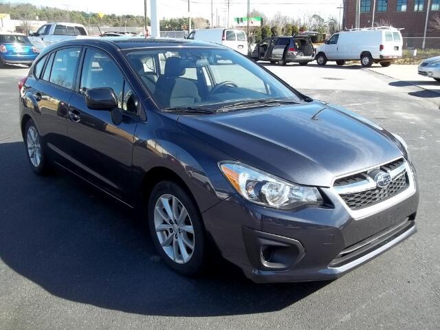 2013 Subaru Impreza 2.0i Premium 5-Door w/All Weather Package