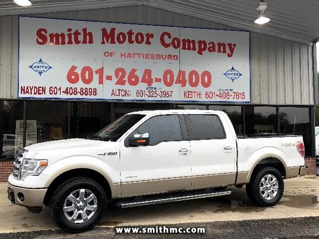 2014 Ford F-150 Lariat SuperCrew 4WF