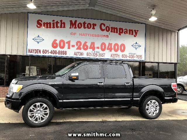 used 2010 ford f 150 4wd supercrew 145 platinum for sale in hattiesburg ms 39402 smith motor. Black Bedroom Furniture Sets. Home Design Ideas