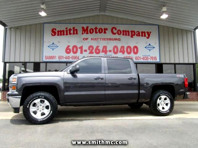 used 2014 chevrolet silverado 1500 for sale in hattiesburg ms 39402 smith motor company. Black Bedroom Furniture Sets. Home Design Ideas