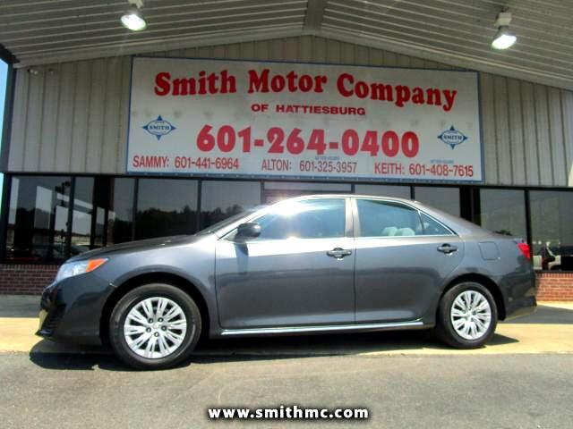 Used 2013 Toyota Camry Le For Sale In Hattiesburg Ms 39402