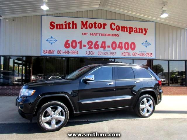 Used 2013 Jeep Grand Cherokee Overland 4wd For Sale In