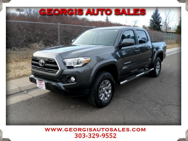 2017 Toyota Tacoma SR Double Cab 5' Bed V6 4x4 AT (Natl)