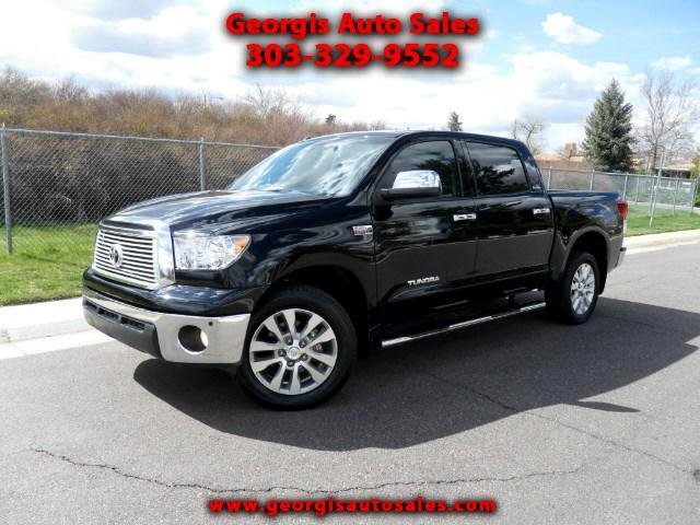 used 2012 toyota tundra platinum crewmax 5 7l 4wd for sale in denver co 80220 georgis auto sales. Black Bedroom Furniture Sets. Home Design Ideas