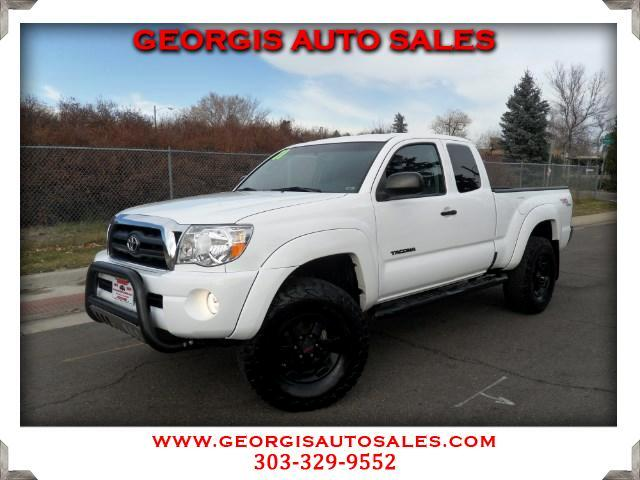 2011 Toyota Tacoma Access Cab V6 4WD TRD Super Charger