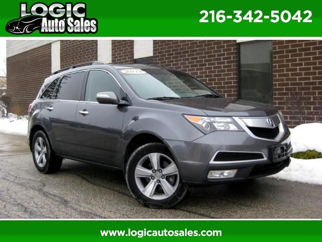 2011 Acura MDX SH-AWD 6-Spd AT w/Tech and Entertainment Package