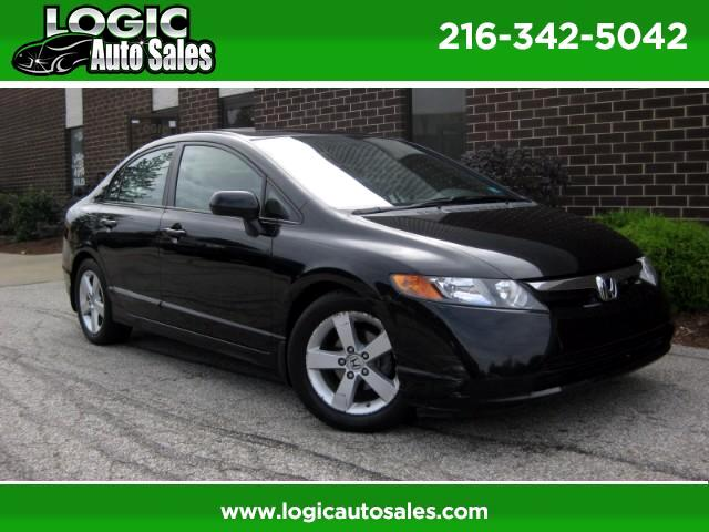 2008 Honda Civic EX Sedan with Navigation
