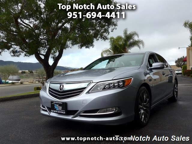 2016 Acura RLX 6-Spd AT w/Advance Package