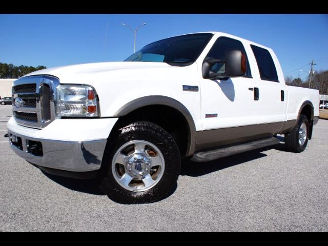 2005 Ford F-250 SD Lariat Crew Cab Short Bed 2WD