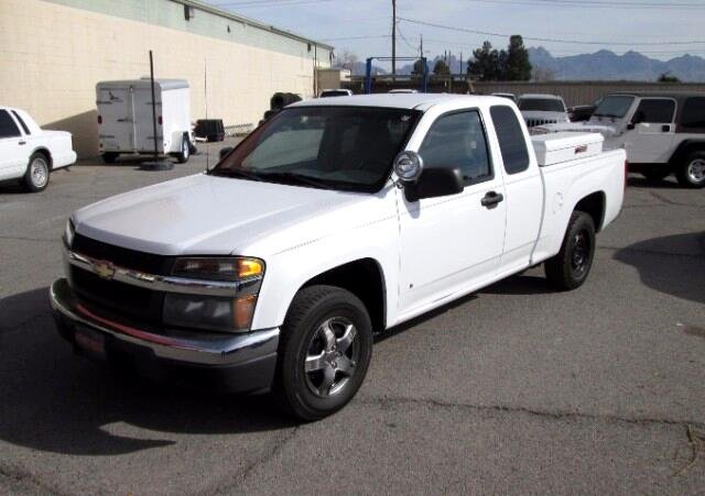 used 2007 chevrolet colorado work truck ext cab 2wd for. Black Bedroom Furniture Sets. Home Design Ideas