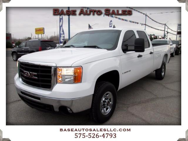 2009 GMC Sierra 2500HD Work Truck Crew Cab Long Box 4WD