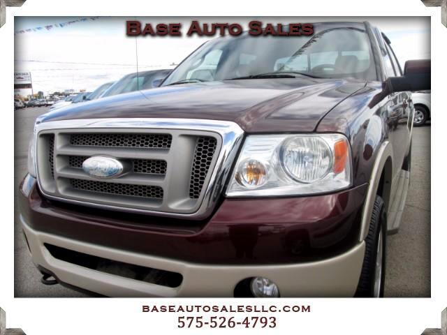 """2008 Ford F-150 4WD SuperCrew 145"""" King Ranch"""