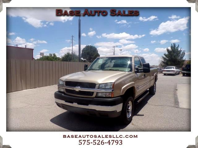 2004 Chevrolet Silverado 2500HD Work Truck Ext. Cab Short Bed 2WD