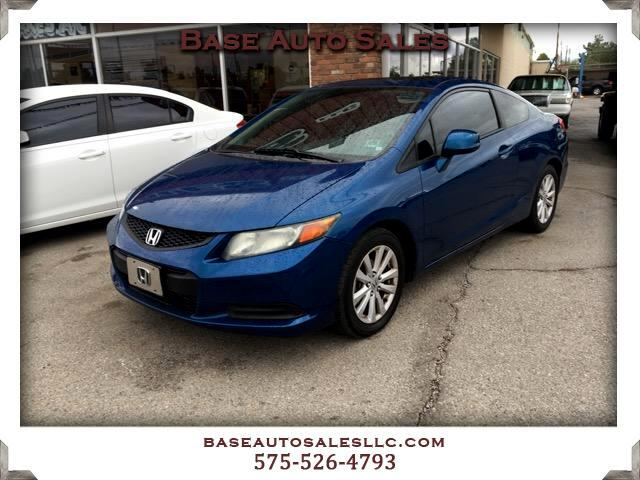 2012 Honda Civic EX-L Coupe 5-Spd AT w/ Nav