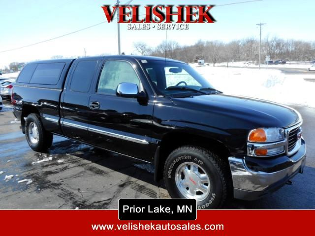 2002 GMC Sierra 1500 SLE Ext. Cab 4-Door Short Bed 4WD