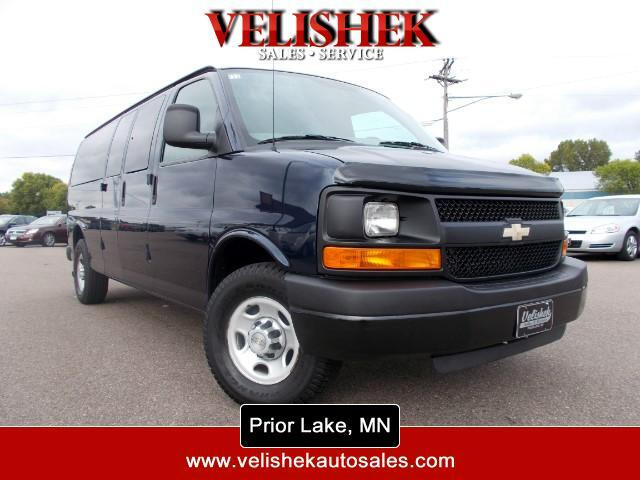 2010 Chevrolet Express LS 3500 Extended 15 PASS