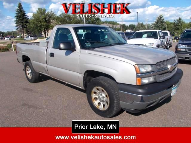 2005 Chevrolet Silverado 1500 Regular Cab Long Bed 4WD