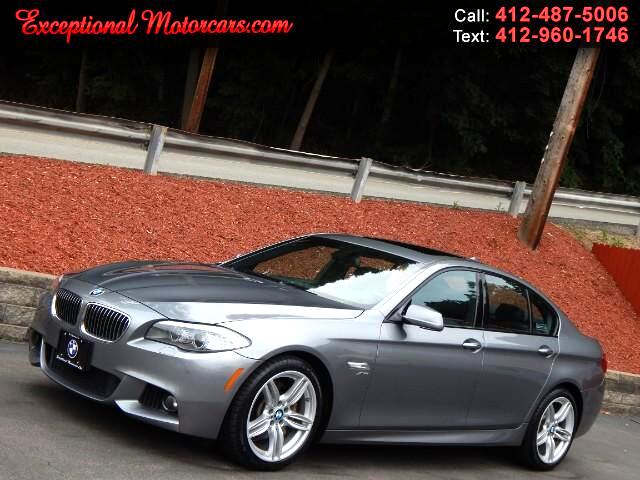 2012 BMW 5-Series 535i xDrive With M Sport Package