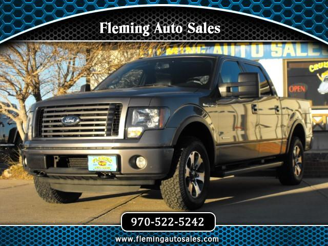 2011 Ford F-150 FX4 SuperCab 5.5-ft. Bed 4WD