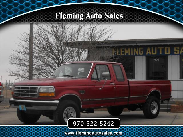 1996 Ford F-250 XL SuperCab Long Bed 4WD