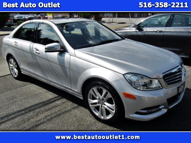 2014 Mercedes-Benz C-Class C300 4MATIC Luxury Sedan