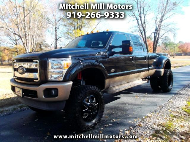 2013 Ford F-350 SD King Ranch Crew Cab DRW 4WD