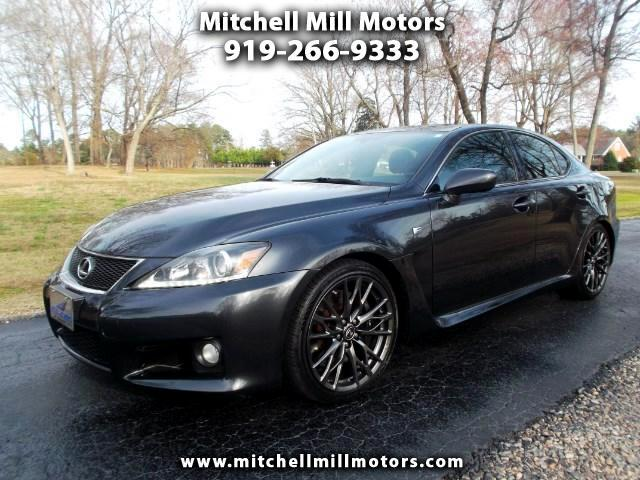 2011 Lexus IS F 8-Speed Direct
