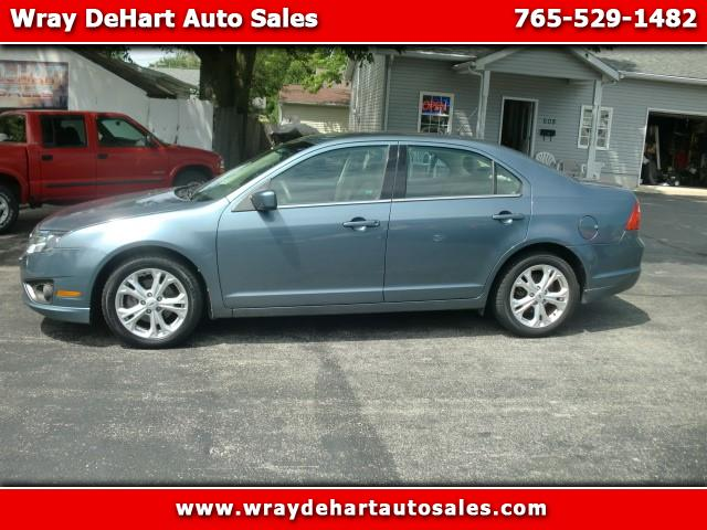 2012 Ford Fusion SE & Used Cars for Sale New Castle IN 47362 Wray DeHart Auto Sales markmcfarlin.com