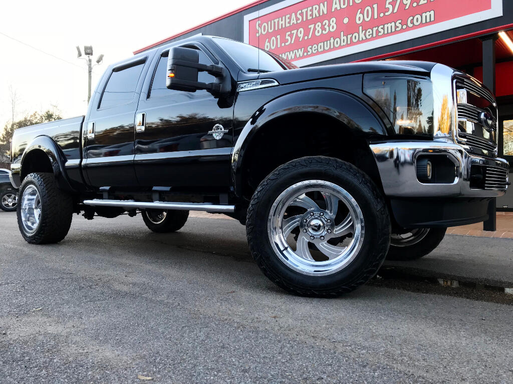 2012 Ford F-250 SD LARIAT CREW CAB SHORT BED 4WD CUSTOM LIFTED
