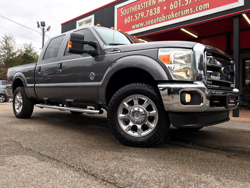 2012 Ford F-250 SD LARIAT CREW CAB SHORT BED 4WD LEVELED