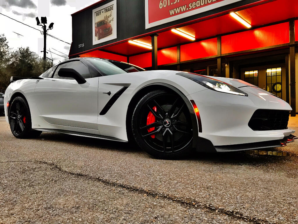 2015 Chevrolet Corvette 3LT COUPE AUTOMATIC HENNESSEE EDITION  LMR SUPERCH