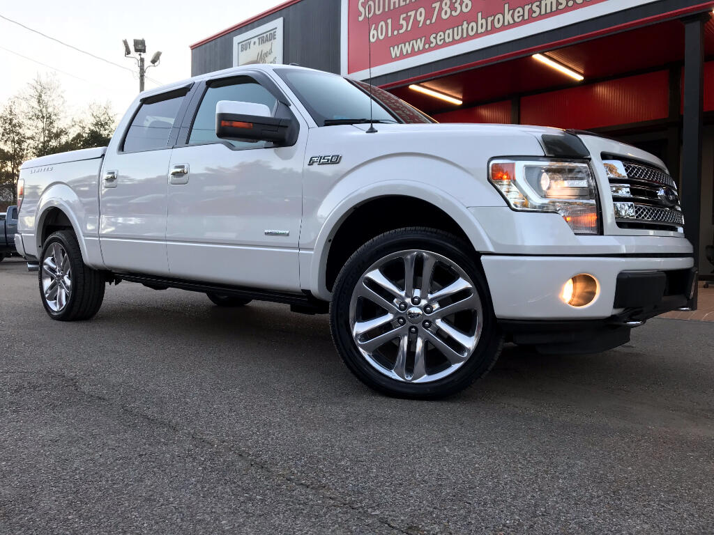 2013 Ford F-150 LIMITED CREW CAB SHORT BED 4WD