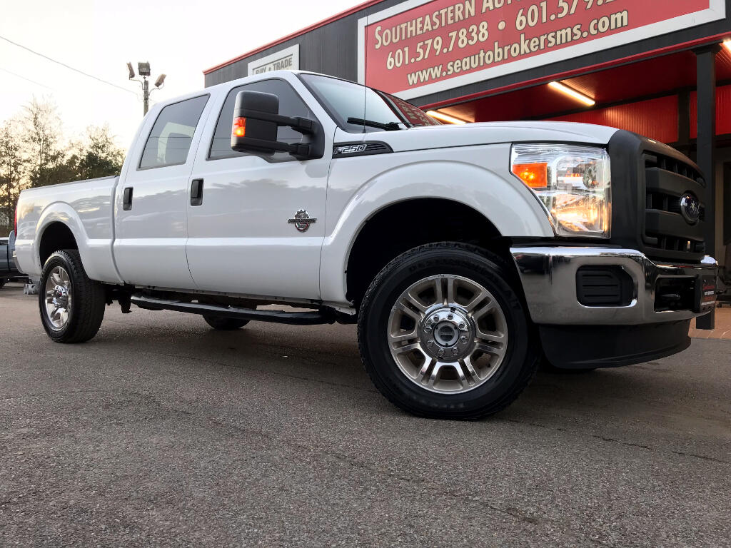 2015 Ford F-250 SD XLT CREW CAB SHORT BED 4WD