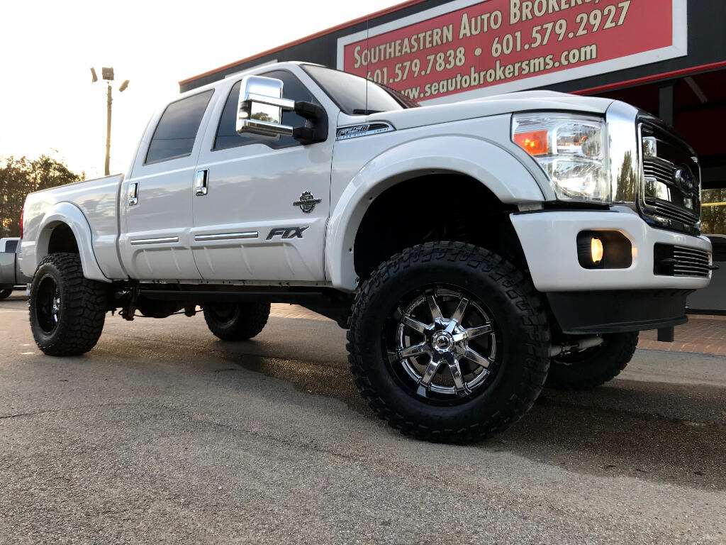 2015 Ford F-250 SD LARIAT CREW CAB 4WD FTX CONVERSION CUSTOM LIFTED