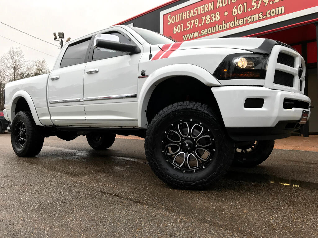 2014 RAM 2500 LIMITED CREW CAB SHORT BED 4WD CUSTOM LIFTED