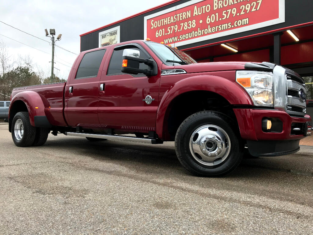 2014 Ford F-450 SD PLATINUM CREW CAB LONG BED 4WD