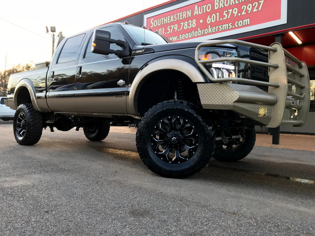 2014 Ford F-350 SD KING RANCH CREW CAB 4WD CUSTOM LIFTED DPF DELETED