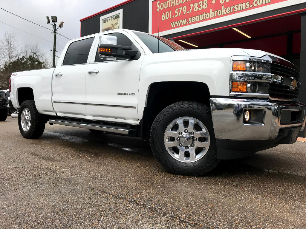 2015 Chevrolet Silverado 2500HD LTZ CREW CAB SHORT BED 4WD