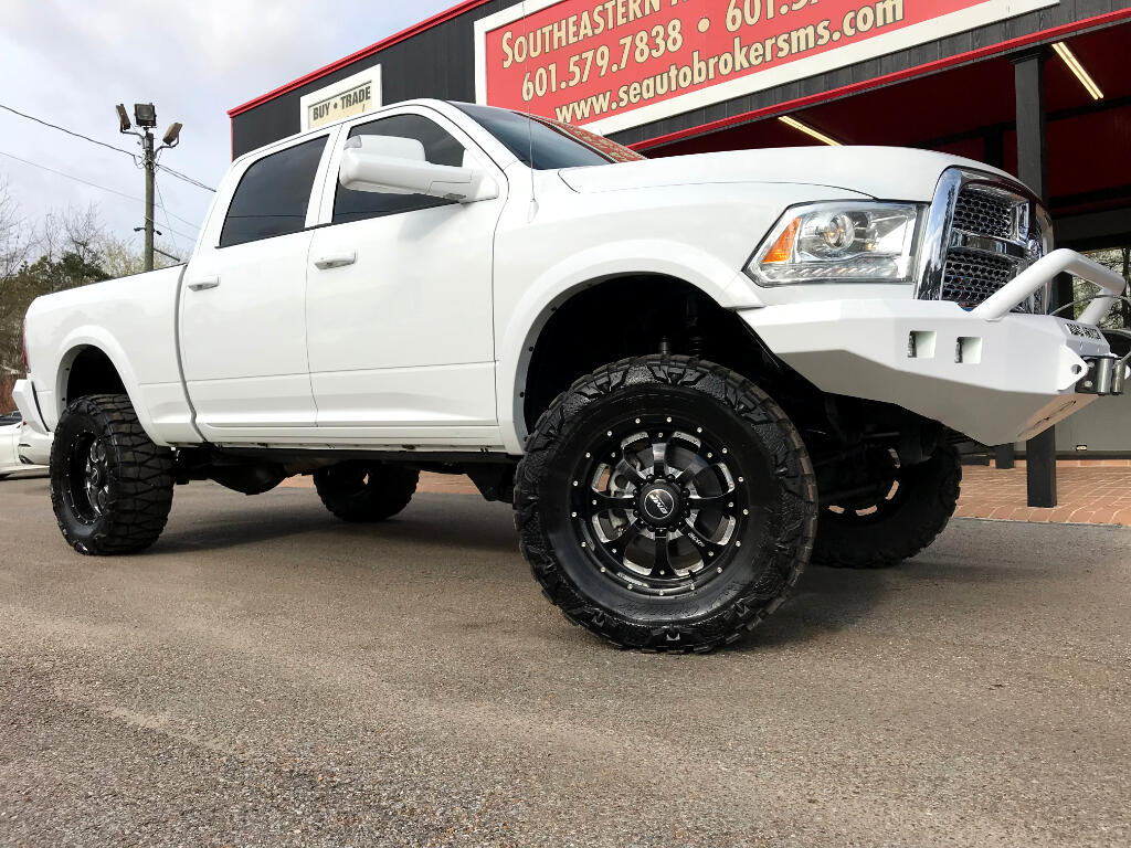 2014 RAM 2500 LARAMIE CREW CAB SHORT BED 4WD CUSTOM LIFTED